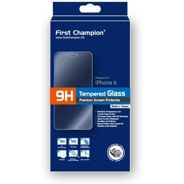 First Champion 9H Tempered Glass (iPhone 6/iPhone 6s)