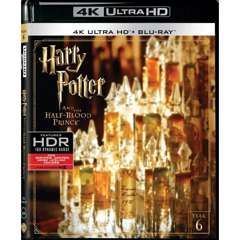 Harry Potter and the Half-Blood Prince (4K UHD+BD) (2-Disc)