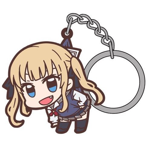 Saekano: How to Raise a Boring Girlfriend Tsumamare Keychain: Eriri Spencer Sawamura Flat Ver.