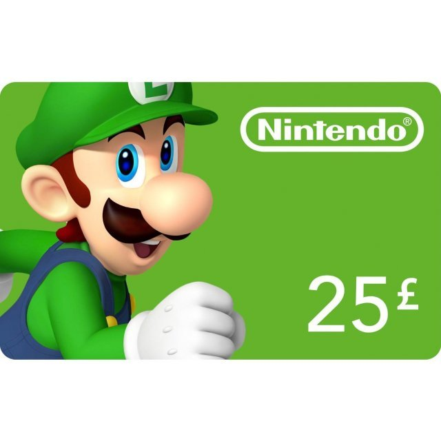 Nintendo eShop Card 25 GBP | EU Account
