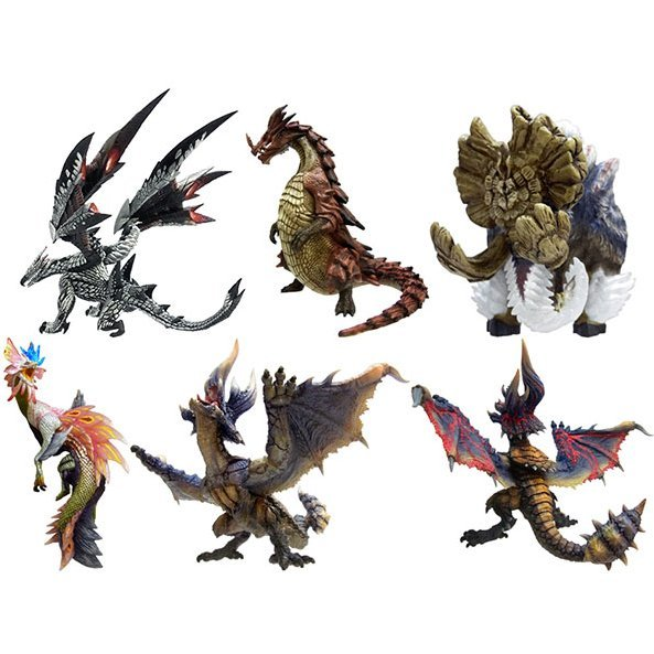 Capcom Figure Builder Monster Hunter Standard Model Plus Vol. 8 (Set of 6 pieces)