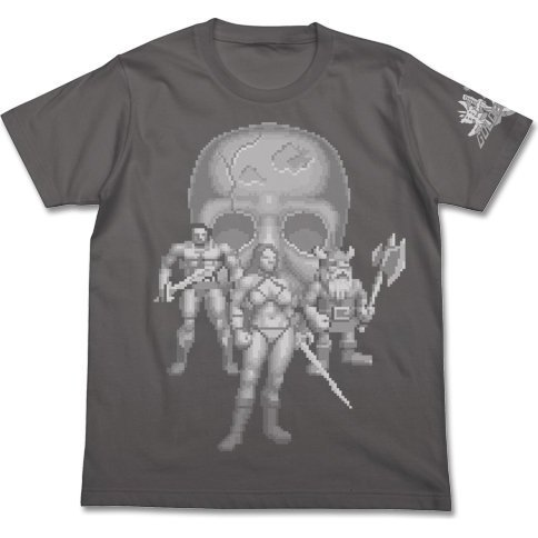 Golden Axe Player T-shirt Medium Gray (L Size)