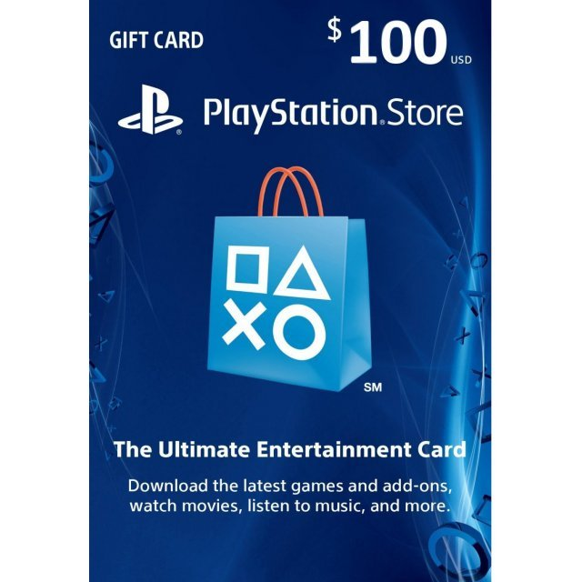 PSN Card 100 USD | Playstation Network US