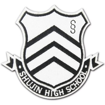 Shin Megami Tensei: Persona 5 Shujin Academy High School Insignia Removable Patch