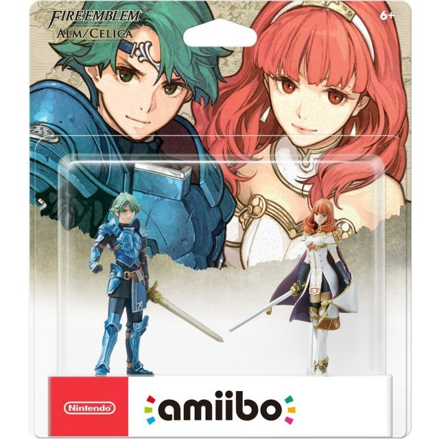 amiibo Fire Emblem Series Figure 2-Pack (Alm and Celica)