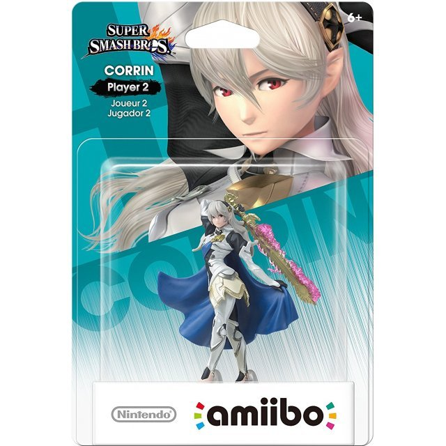 amiibo Super Smash Bros. Series Figure: 2P Fighter (Corrin)