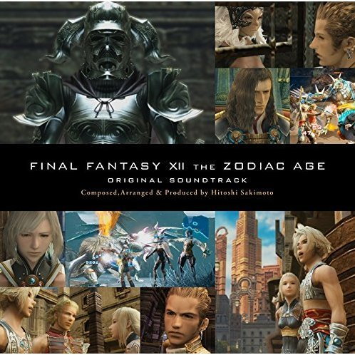 Final Fantasy XII The Zodiac Age Original Soundtrack [Blu-ray Disc Music]