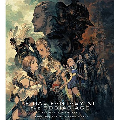 Final Fantasy XII The Zodiac Age Original Soundtrack [Blu-ray Disc Music+CD Limited Edition]