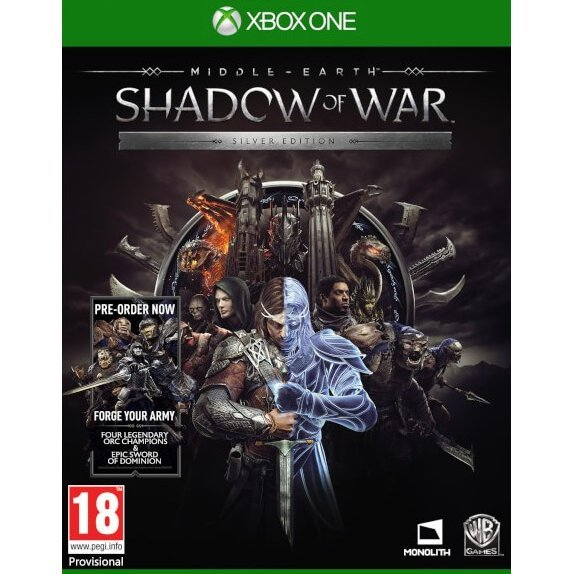 Middle-earth: Shadow of War [Silver Edition] (Chinese Subs)