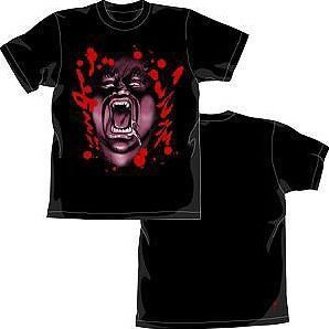 Fist Of The North Star Heart T-shirt Black (L Size)