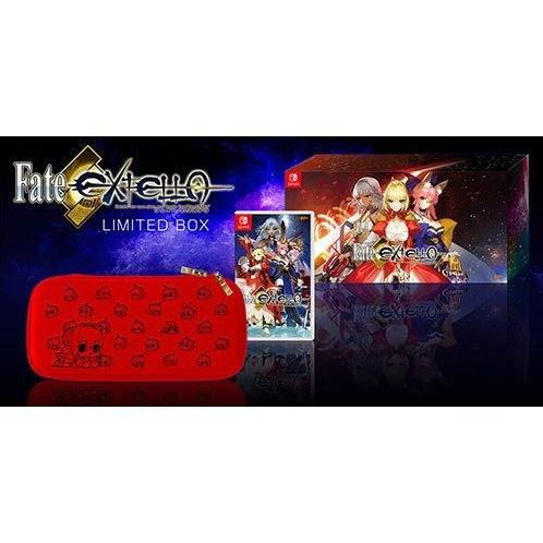 Fate/Extella [Limited Box & Canvas Art Limited Edition] (Multi-Language)