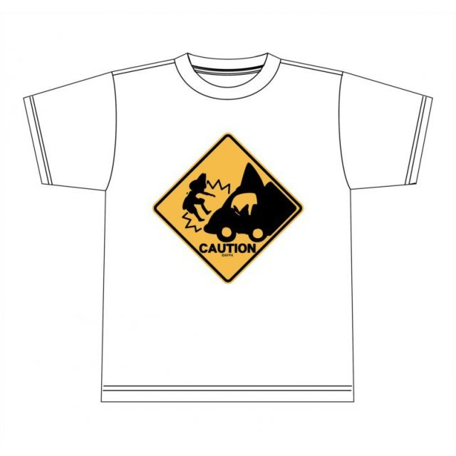 Kemono Friends Abunaiyo-! T-shirt White (M Size)