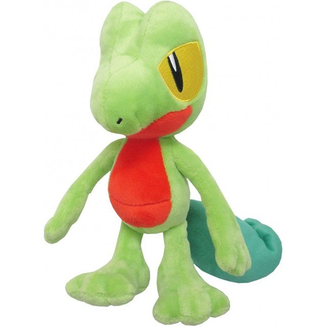 Pocket Monsters All Star Collection Plush: Treecko (S)