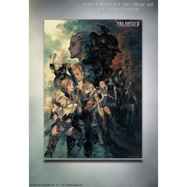 Final Fantasy XII The Zodiac Age Wall Scroll Poster