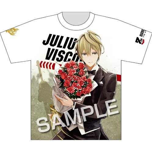 God Eater 7th Anniversary Full Graphic T-shirt - Julius Visconti (M Size)