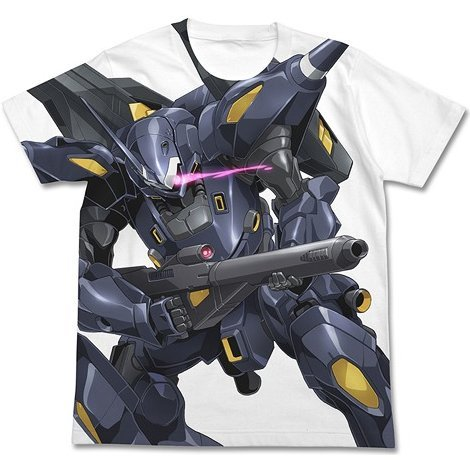Gundam Build Fighters Kampfer Amazing Full Graphic T-shirt White (L Size)