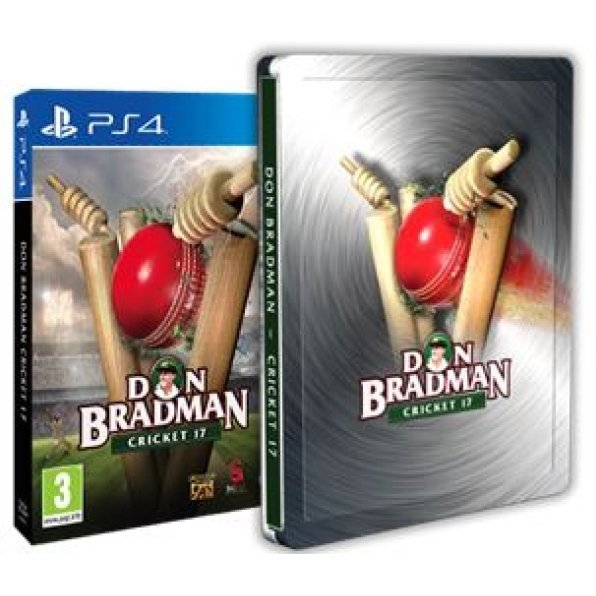 Don Bradman Cricket 17 [Steelbook Edition]