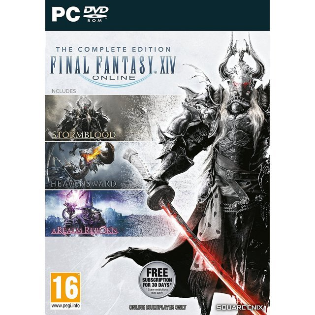 Final Fantasy XIV Online: The Complete Edition (DVD-ROM)