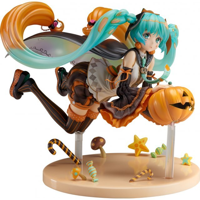 Vocaloid: Hatsune Miku Trick or Miku Illustration by Hidari