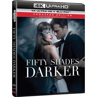 Fifty Shades Darker (Unmasked Edition) (4K UHD+BD) (2-Disc)