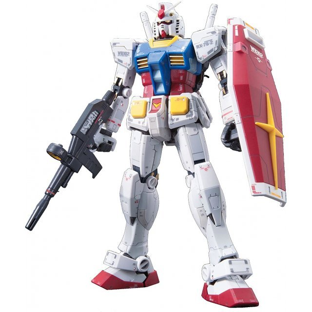 Mobile Suit Gundam 1/144 Scale Model Kit: RX-78-2 Gundam (RG)