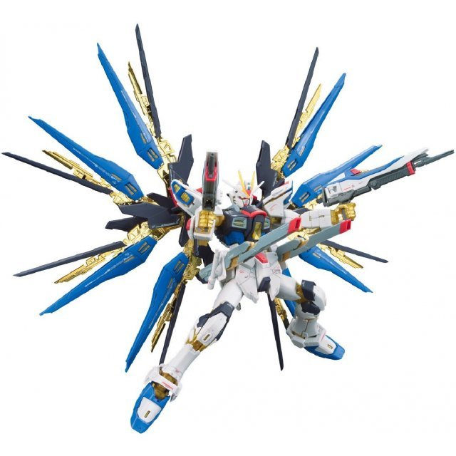 Mobile Suit Gundam 1/144 Scale Model Kit: ZGMF-X20A Strike Freedom Gundam (RG)