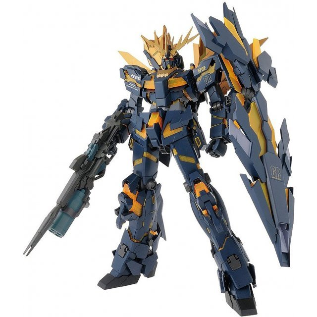 Mobile Suit Gundam 1/60 Scale Model Kit: RX-0 [N] Unicorn Gundam 02 Banshee Norn & LED Unit Set (PG)