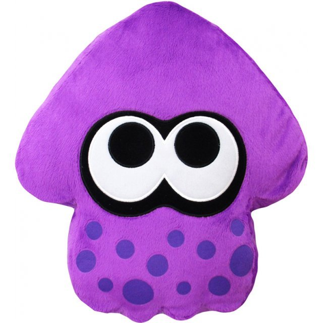 Splatoon 2 Plush: Neon Purple Squid Cushion