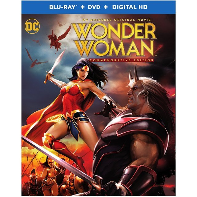 Wonder Woman - Commemorative Edition [Blu-ray+DVD+Digital HD]