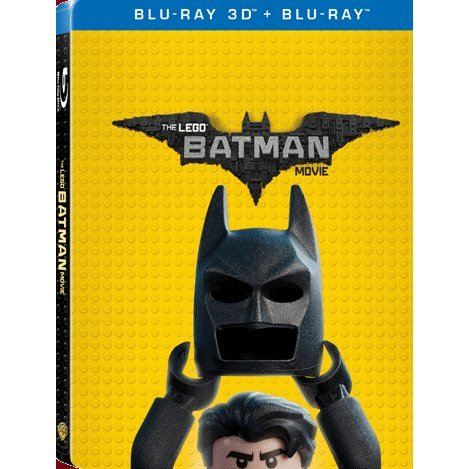 The Lego Batman Movie 3D (2-Disc) (Steelbook)