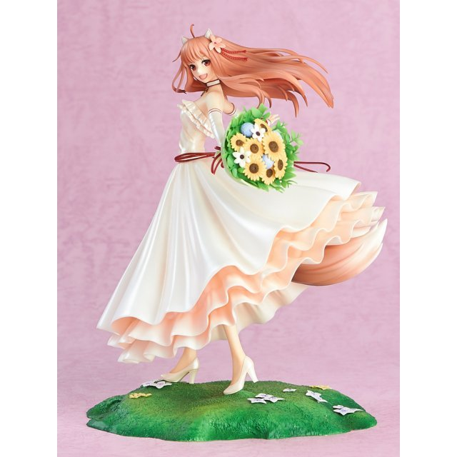 Spice and Wolf 1/8 Scale Pre-Painted Figure: Holo Wedding Dress Ver.