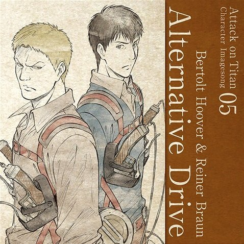 Attack On Titan Character Image Song Series Vol 5 Alternative Drive
