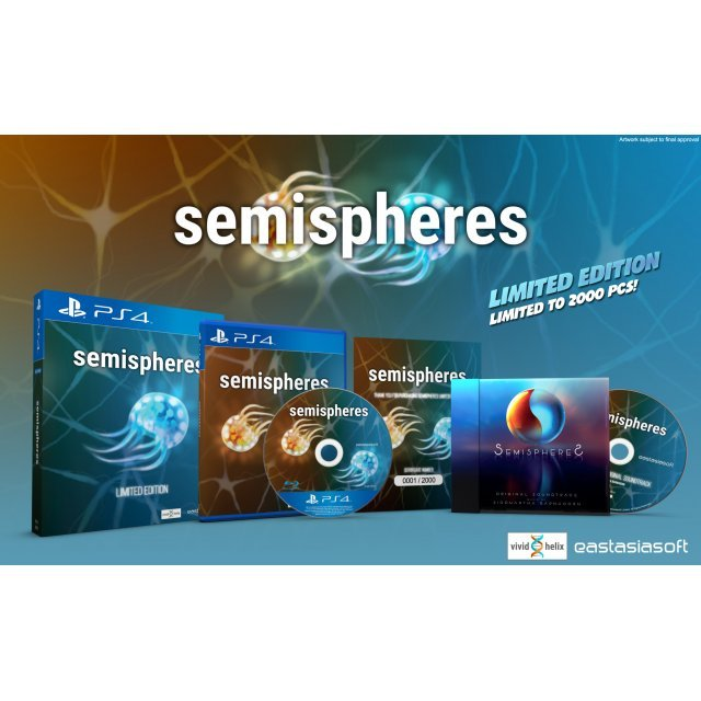 Semispheres [Blue Cover Limited Edition] - Play-Asia.com Exclusive