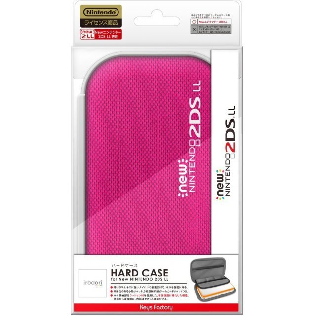 Hard Case for New 2DS LL (Rose Pink)