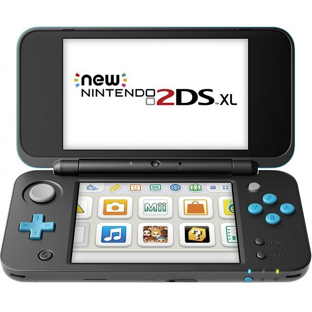 New Nintendo 2DS XL (Black x Turquoise)