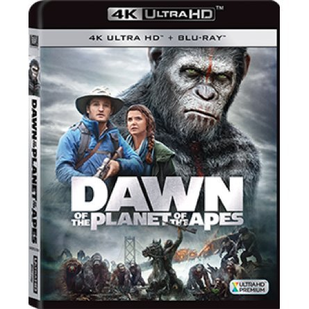 Dawn of the Planet of the Apes (4K UHD+BD) (2-Disc)