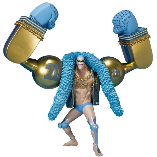 Figuarts Zero One Piece: Franky -One Piece 20th Anniversary Ver.-