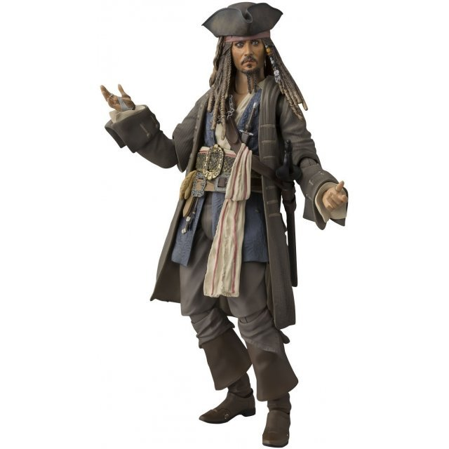 S.H.Figuarts Pirates of the Caribbean Dead Men Tell No Tales: Captain Jack Sparrow