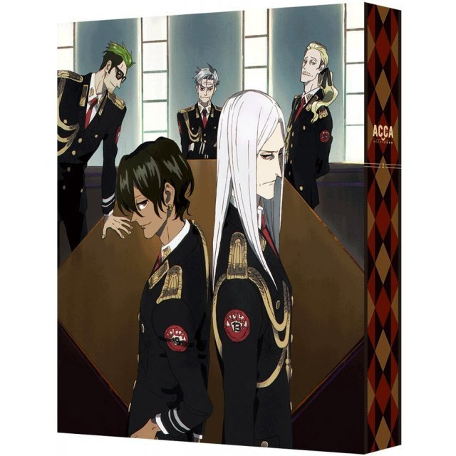 Acca: 13-ku Kansatsu-ka Blu-ray Box 2 [Blu-ray+CD Limited Edition]