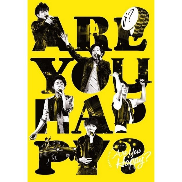 Arashi Live Tour 2016-2017 Are You Happy? [2Blu-ray+DVD]