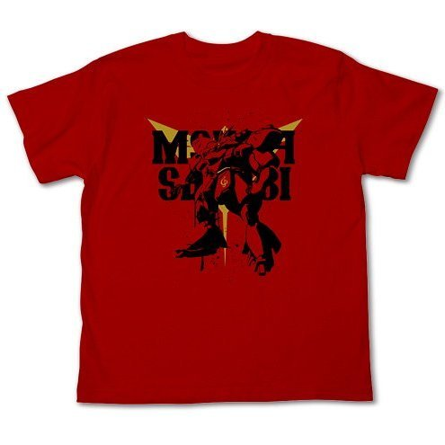 Mobile Suit Gundam Char's Counter Attack Msn-04 Sazabi T-shirt Red (L Size)