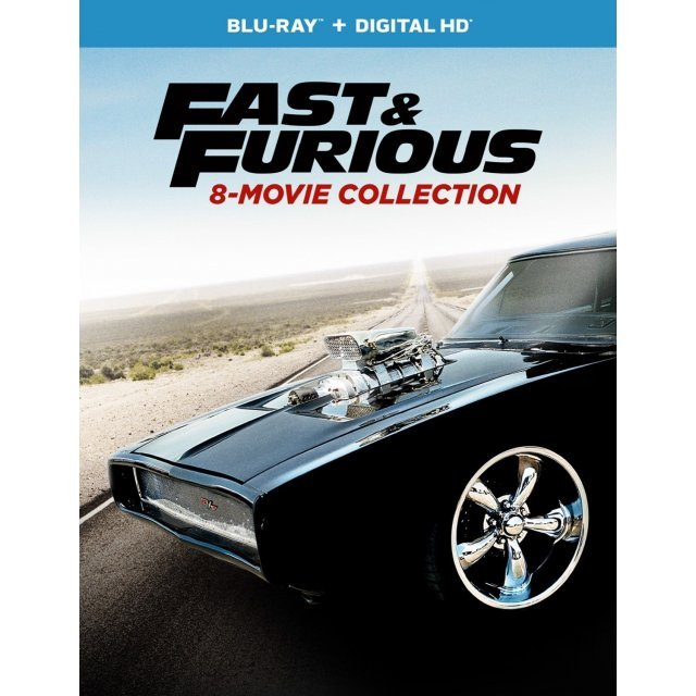 Fast & Furious: 8-Movie Collection [Blu-ray+Digital HD]