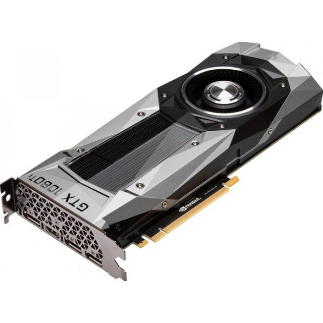 ASUS GeForce GTX 1080 Ti Founders Edition, GTX1080TI-FE, 11GB GDDR5X