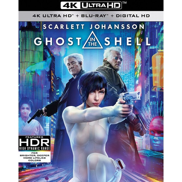 Ghost In The Shell [4K Ultra HD Blu-ray]