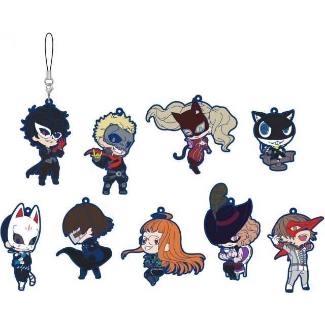 Persona 5 Rubber Strap Collection Vol. 2 (Set of 9 pieces)