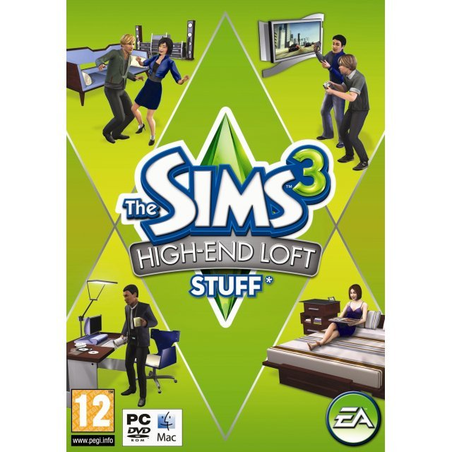 The Sims 3: High-end Loft Stuff (Origin)