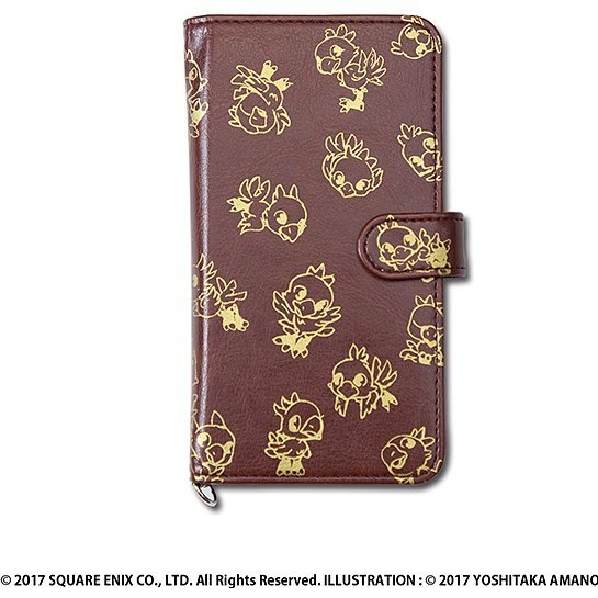 Final Fantasy 30th Anniversary Smartphone Case - Brown