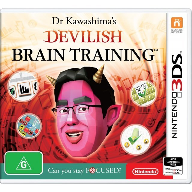 Dr. Kawashima's Devilish Brain Training: Can You Stay Focused?