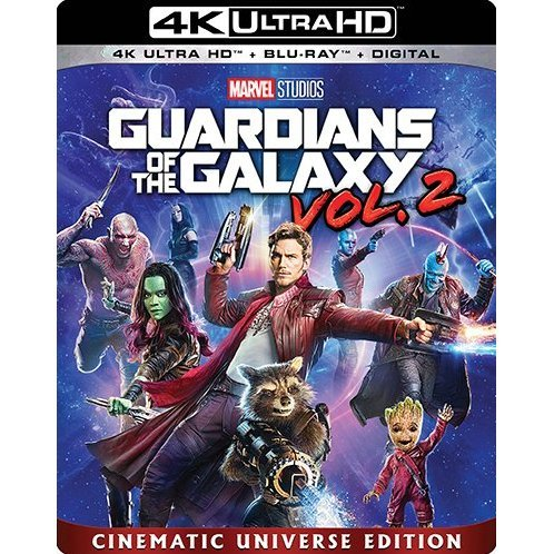 Guardians Of The Galaxy Vol. 2 [4K Ultra HD Blu-ray]