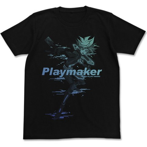 Yu-Gi-Oh! Vrains Playmaker T-shirt Black (S Size)